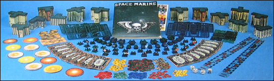 Space Marine box contents